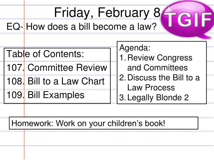 Friday, February 8