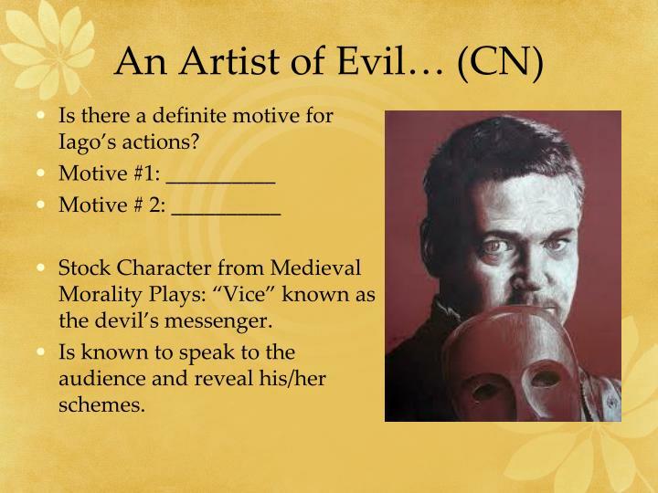 An Artist of Evil… (CN)