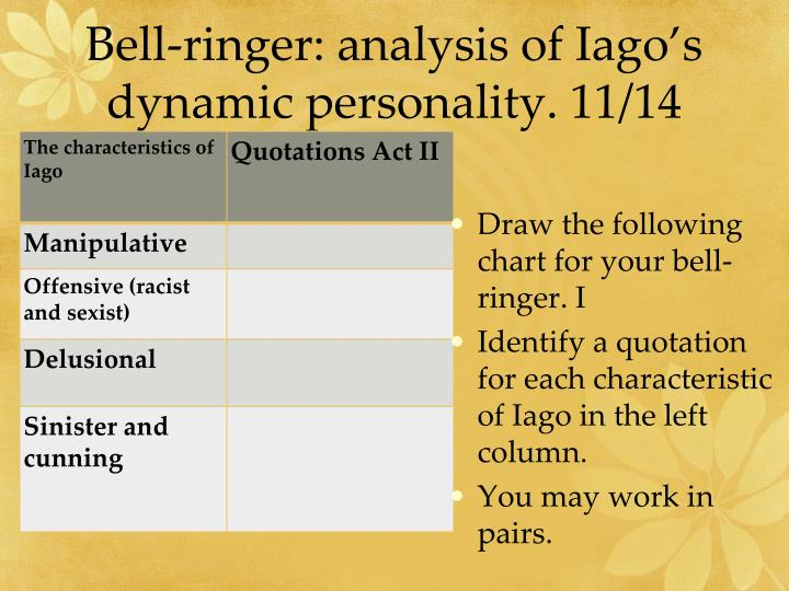 Bell-ringer: analysis of
