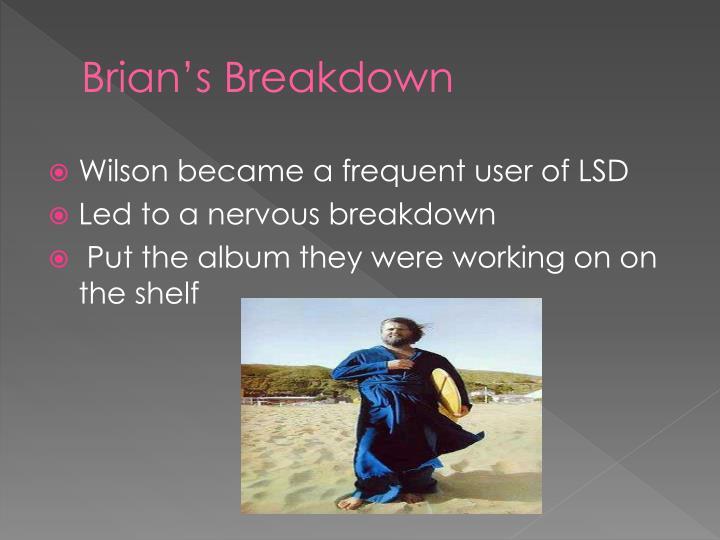 Brian's Breakdown