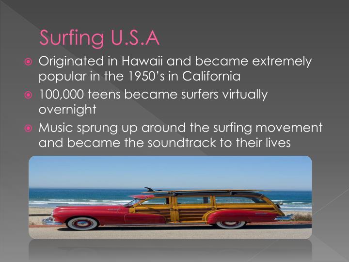 Surfing U.S.A