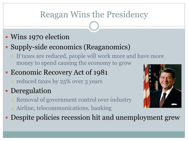 Reagan Wins the Presidency