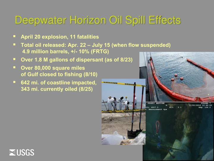 Deepwater Horizon Oil Spill Effects