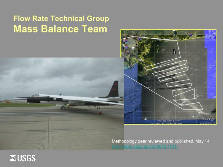 Flow Rate Technical Group