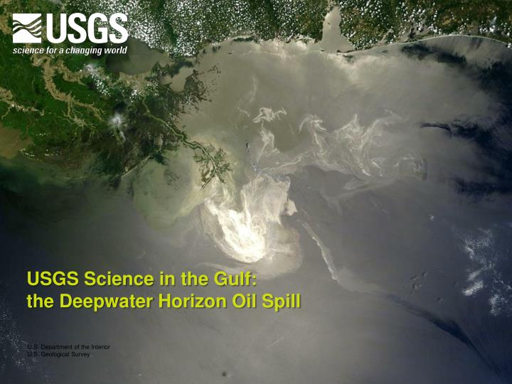 USGS Science in the Gulf: