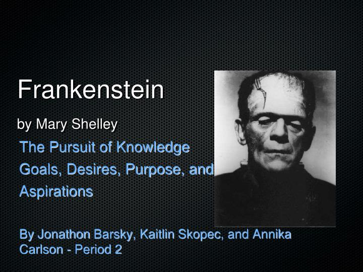 homoerotic desire in frankenstein essay