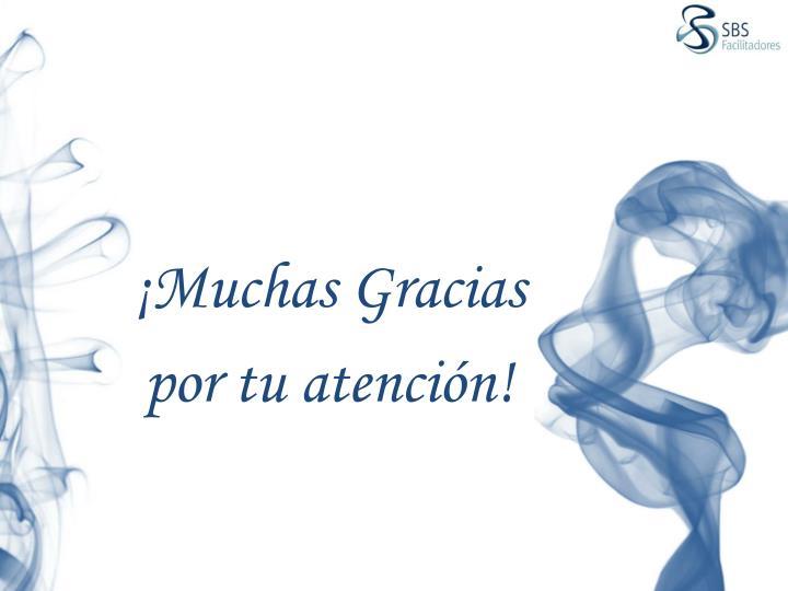 ¡Muchas Gracias