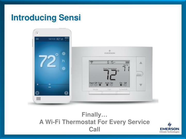 Introducing Sensi