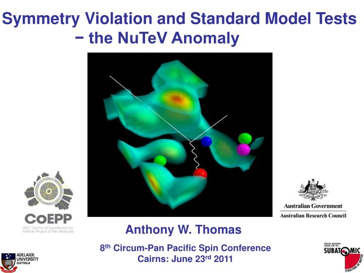 Symmetry Violation and Standard Model Tests