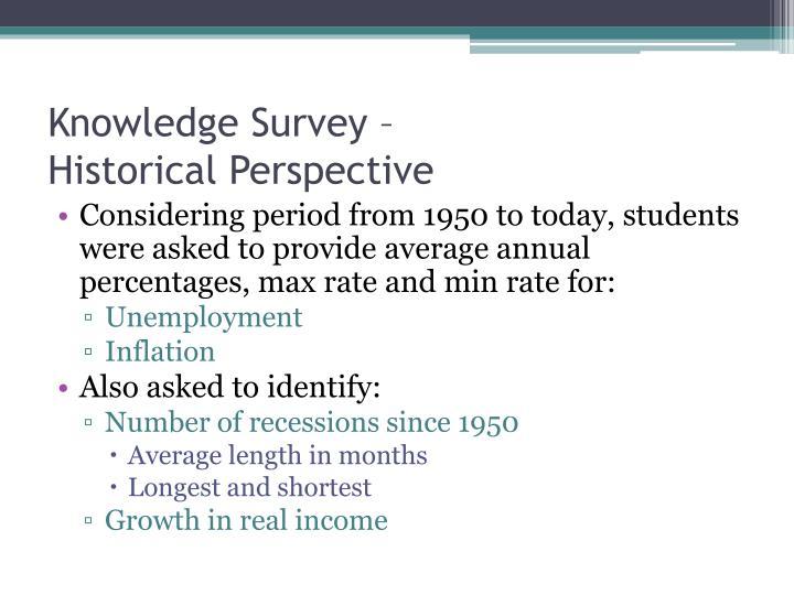 Knowledge Survey –