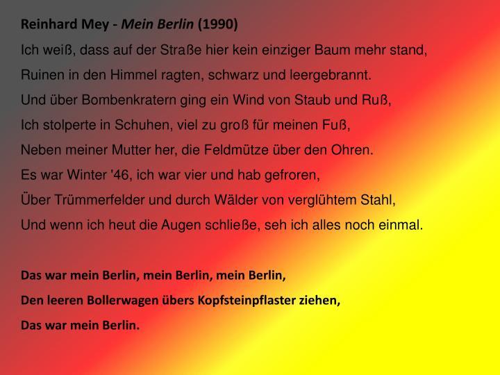 Reinhard Mey -