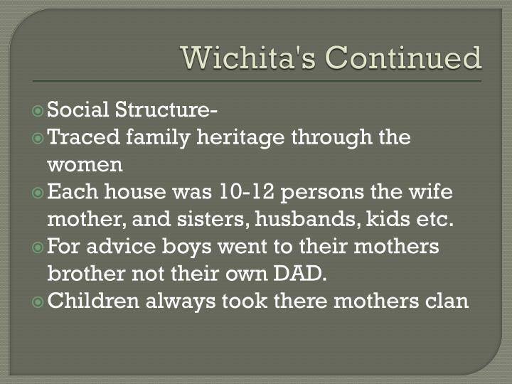 Wichita's Continued