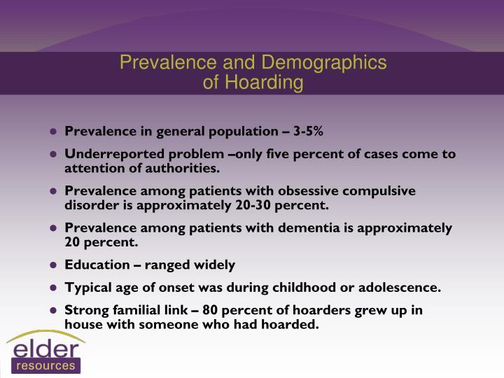 Prevalence and Demographics