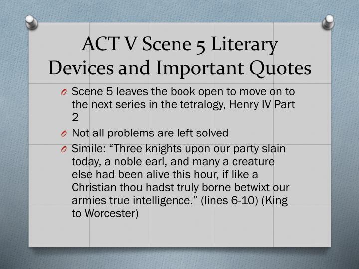 ACT V Scene