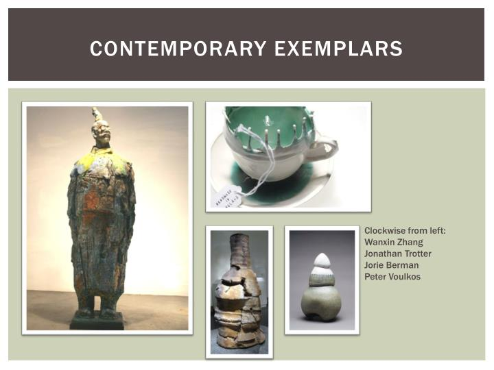 Contemporary Exemplars