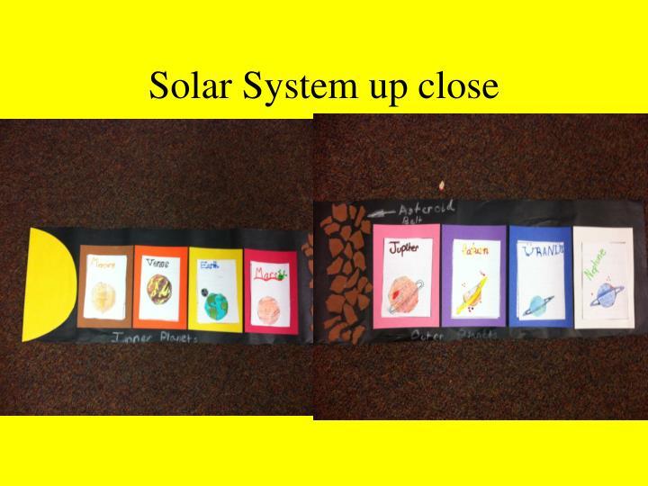 Solar System up close