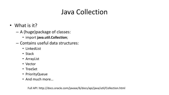 Java Collection