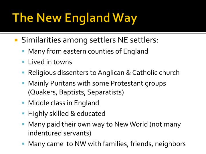 an overview of the quakers versus the puritans in the catholic church The considered statues and decorations in churches to be heathen and  associated it with catholicism, or popery they were the dominant.