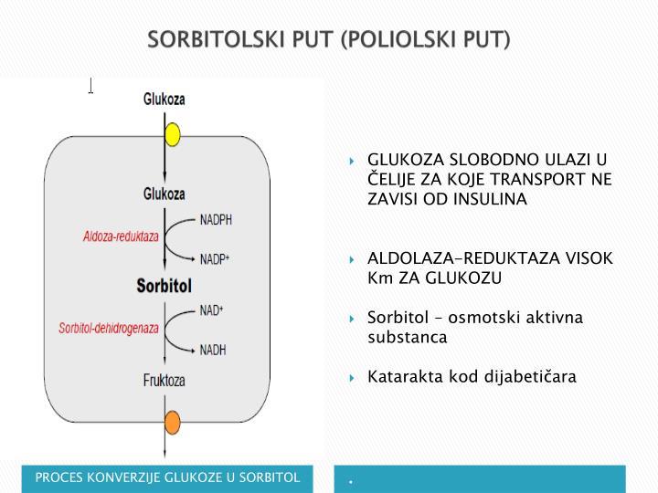 SORBITOLSKI PUT (POLIOLSKI PUT)