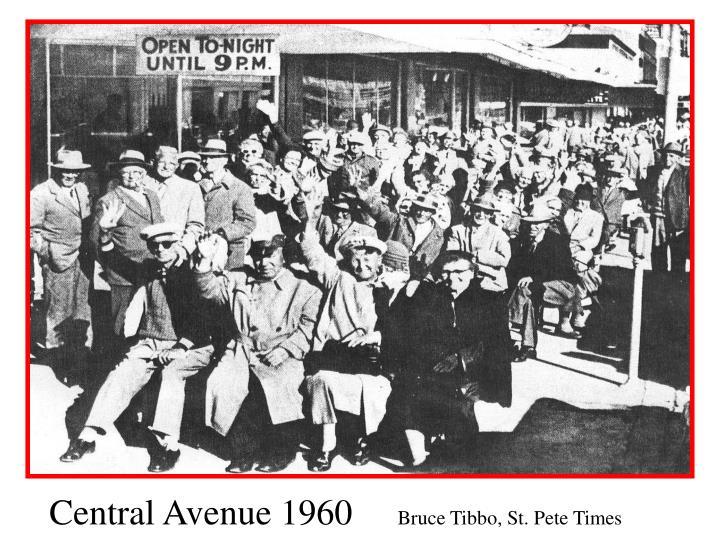 Central Avenue 1960