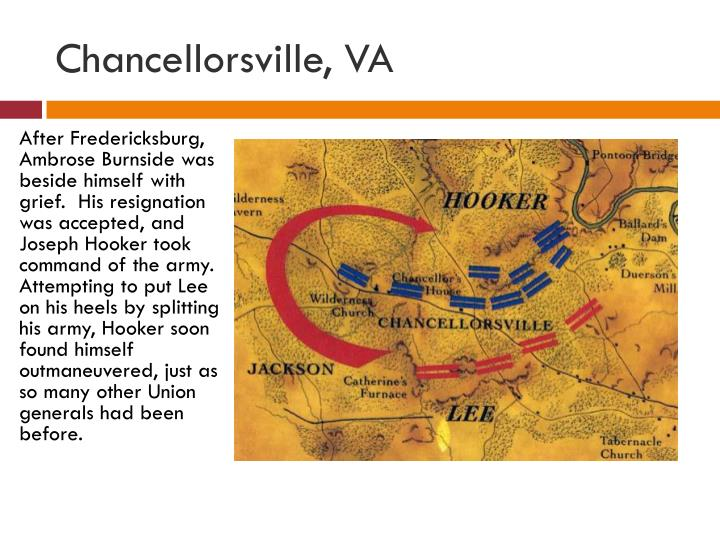 Chancellorsville, VA