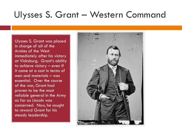 Ulysses S. Grant – Western Command