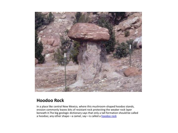 Hoodoo Rock