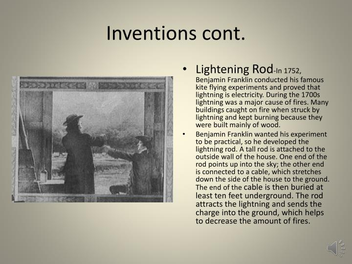 Inventions cont.