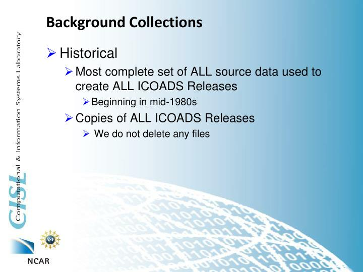 Background Collections