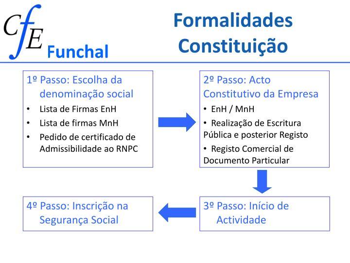 Formalidades Constituição