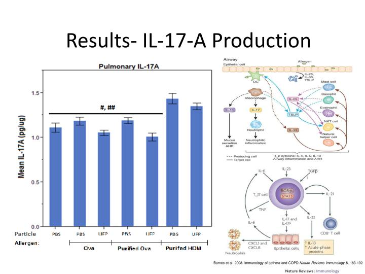 Results- IL-17-A Production