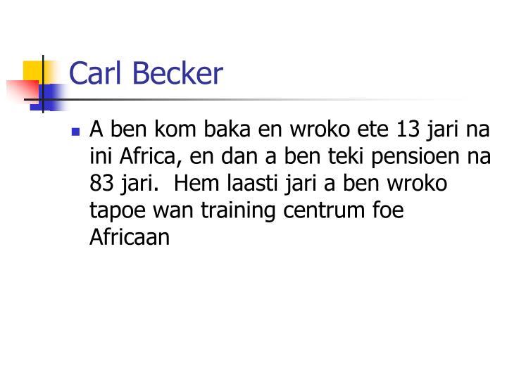 Carl Becker