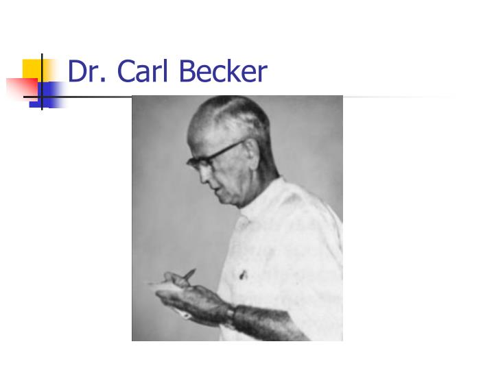 Dr. Carl Becker