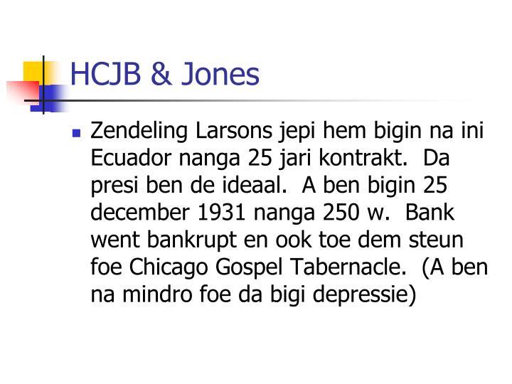 HCJB & Jones