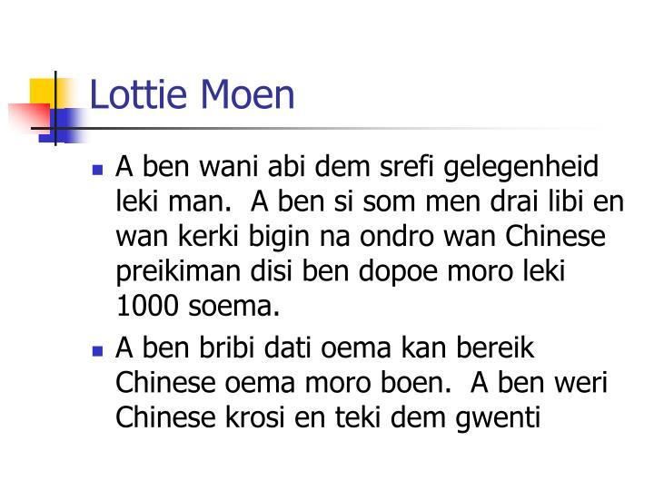 Lottie Moen