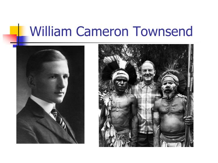 William Cameron Townsend