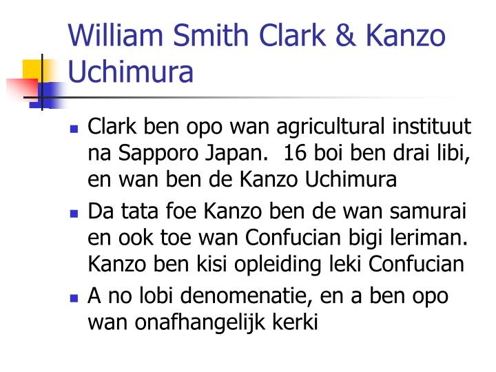 William Smith Clark &