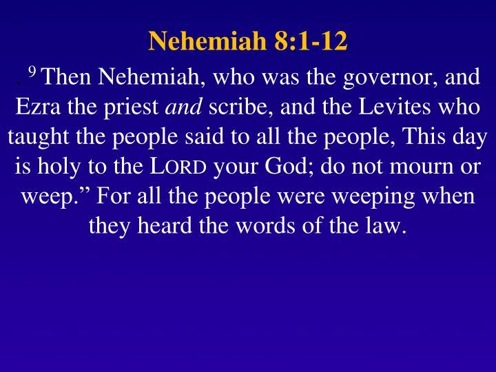 Nehemiah 8:1-12