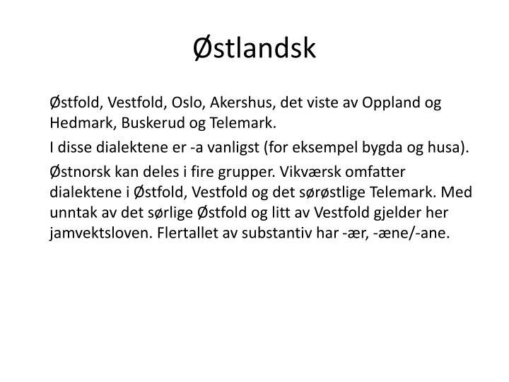 norske dialekter escorte hedmark