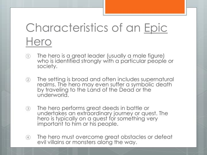 Characteristics of an