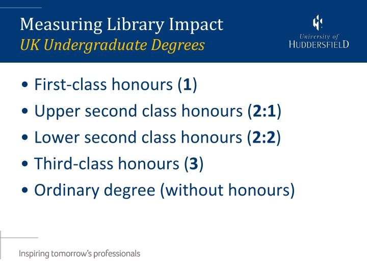 First-class honours (