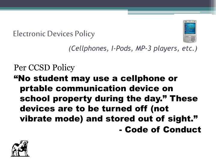Electronic Devices Policy