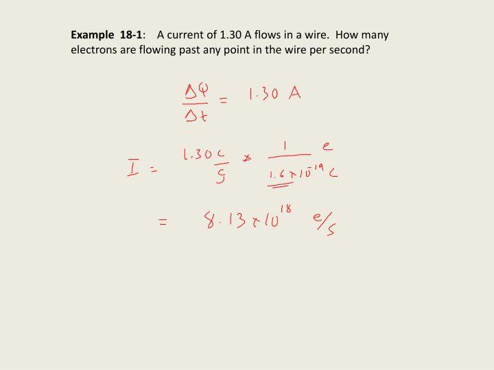 Example  18-1