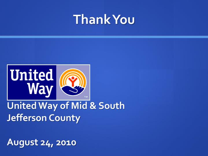 United Way of Mid & South