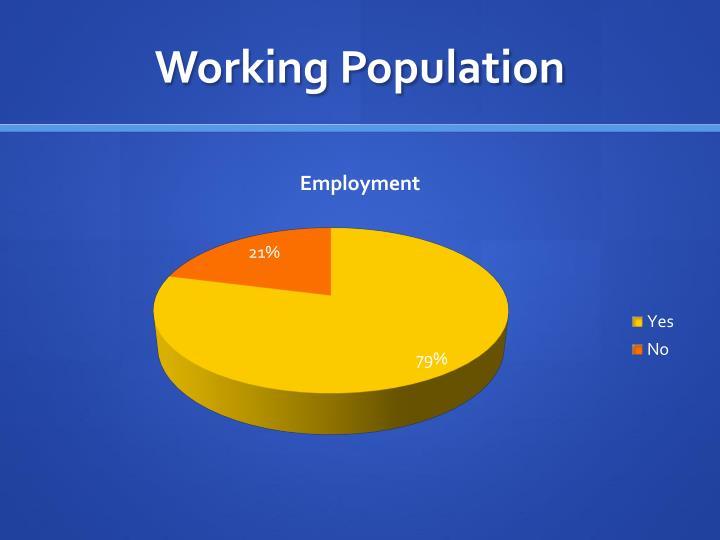 Working Population