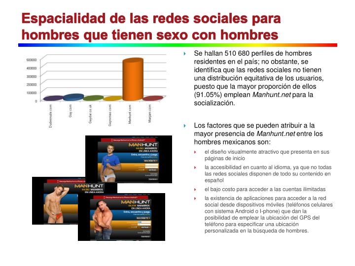 Redes sociales para sexo