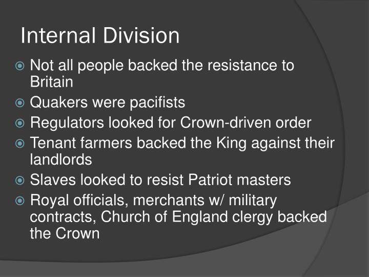 Internal Division