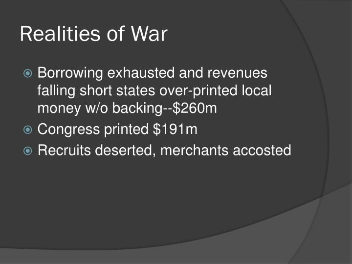 Realities of War