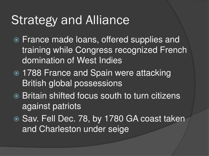 Strategy and Alliance