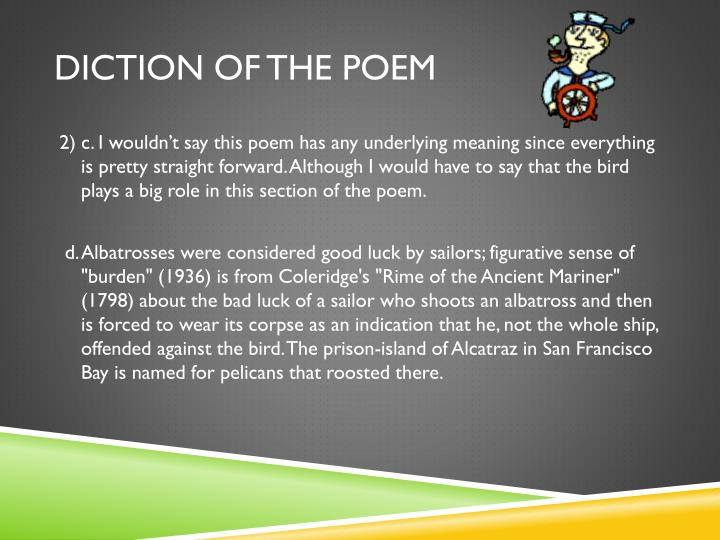 Diction of the Poem